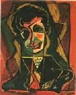 «Portretul lui Tristan Tzara, de M.H. Maxy»