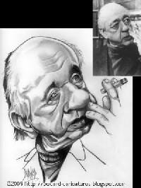 Eugène Ionesco (1909-1994), écrivain français d'origine roumaine