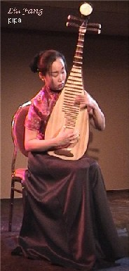Liu Fang (born 1974) is one of the most prominent pipa players in the world.