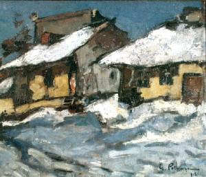 Case iarna, de Gheorghe Petraşcu