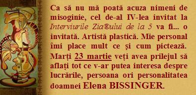 Interviu: ELENA BISSINGER