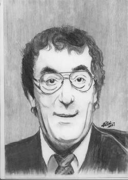 Toma Caragiu – Desene în creion, de Bogdan Calciu