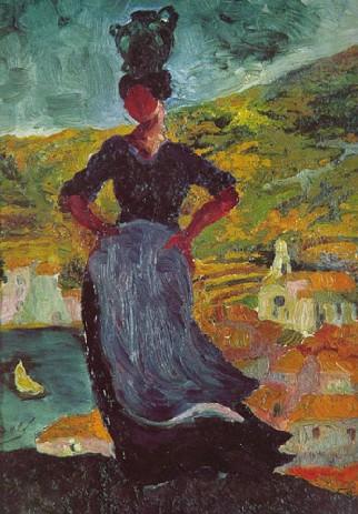 Salvador Dali: Retrato de Hortensia, campesina de Cadaqués