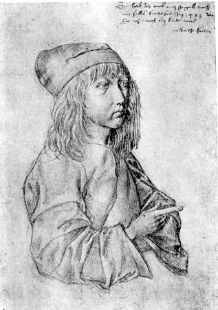 Albrecht Dürer: primul autoportret