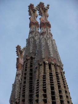 Terminal del torre de la Sagrada Família