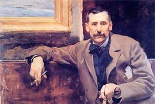 JOAQUIN SOROLLA: Retrato de Benito Pérez Galdós